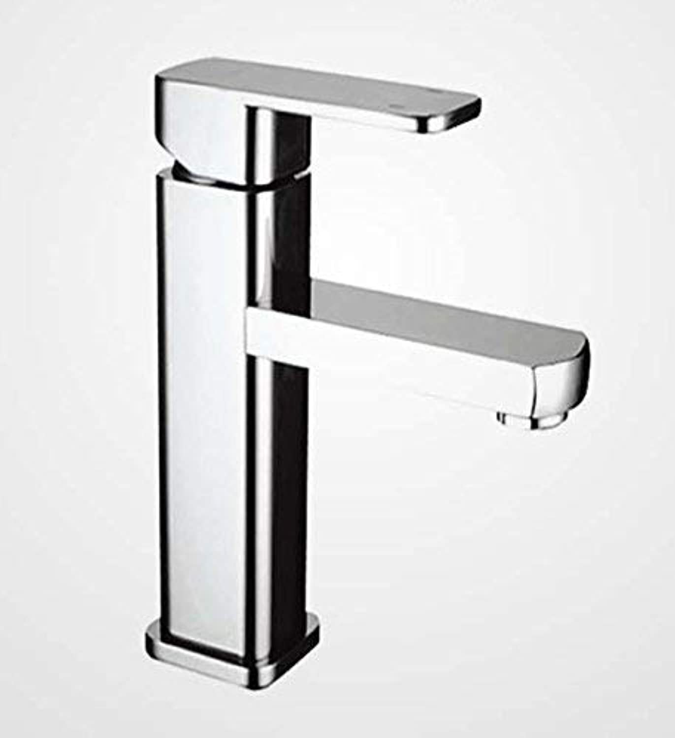 Oudan All bronze Wash basin single hole single handle hot and cold stainless steel sink faucet