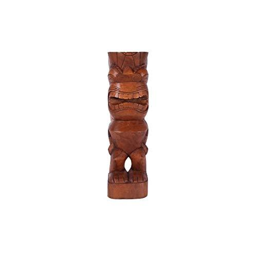 KOH DECO Tiki polynésien Kane en Bois 50 cm