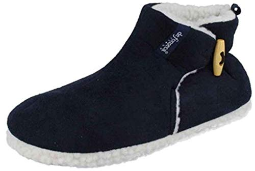 de fonseca Pantofole Stivaletti Invernali da Uomo MOD. Trento M215 Blu (43 EU)
