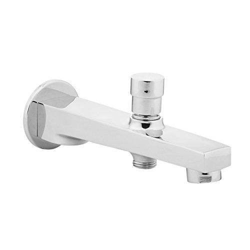 Hindware F360010CP Stainless Steel Element Bath Spout with Polished Tip-Ton (Chrome)
