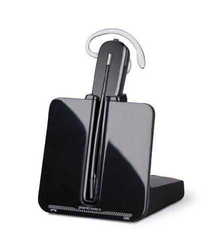 Plantronics CS540/A - Auriculares con micrófono para teléfonos digitales (Inalámbrico, DECT, 6.8...