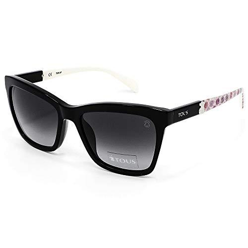 TOUS STO945-530700 Gafas, Negro, 53/18/140 para Mujer