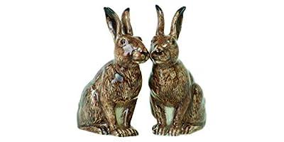 Quail Ceramics Hare Salt & Pepper Pots from Quail Ceramics