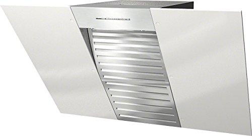 Miele DA 6096 W White Wing Wandhaube / 89,8 cm / brillantweiß / Kopffreiheit mit brilliantweißem Glasschirm in 90 cm Breite / Leistungsstark 650 m³/h in Intensivstufe