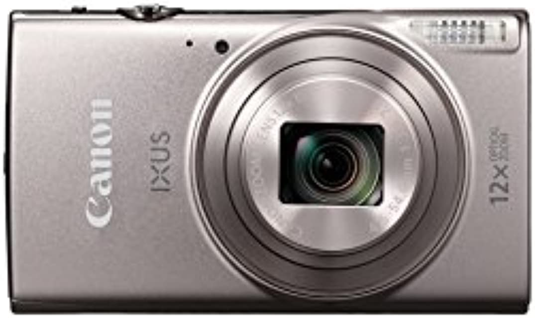 "Canon IXUS 285 HS - Cámara Digital compacta de 20.2 MP (Pantalla de 3"" Zoom óptico de 12x NFC Video Full HD WiFi) Color Plata"