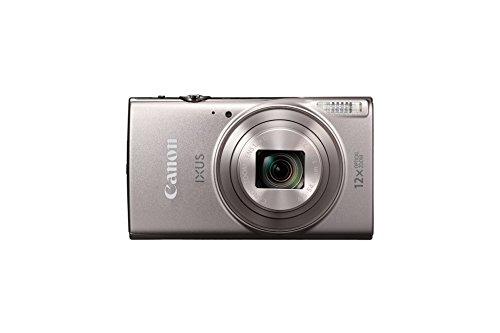 """Canon IXUS 285 HS - Cámara Digital compacta de 20.2 MP (Pantalla de 3"""", Zoom óptico de 12x, NFC, Video Full HD, WiFi), Color Plata"""