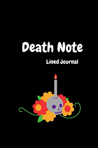Death Note Lined Journal: 120 Pages Notebook Planner Diary for Boys Girls Men and Women