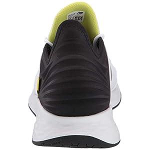 New Balance Men's Fresh Foam Roav V1 Sneaker, White/Black, 13 M US