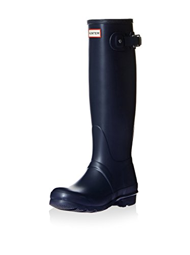 HUNTER Damen ORIGINAL Tall Gummistiefel, Blau (Navy NVY), 37 EU