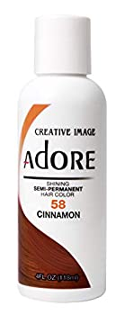 RINSE OUT SEMI-PERMANENT HAIR COLOUR CINNAMON 58  by Adore