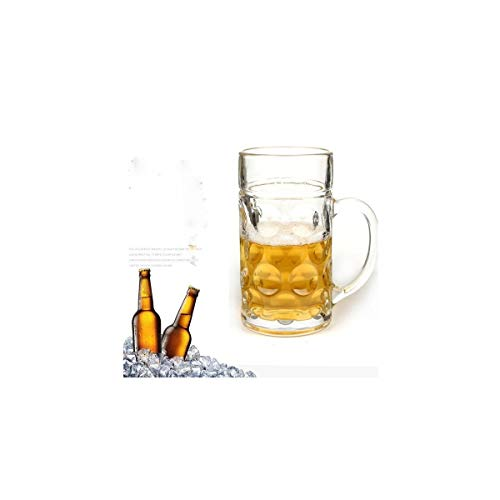 Shtsh Gran tamaño de 1 litro, Jarra de Cerveza Grande, Jarra de...