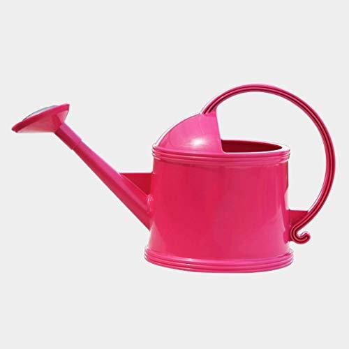 Gietkan, 3,8 liter, kleur tuinirrigatie, gietkan, lang water in de mond bloempot (kleur: rood) dljyy