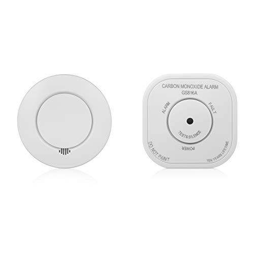 Smartwares SH8-99111 Smarthome pro Funk Rauch und CO Warnmelder/Push Nachricht optional mit Homewizard link