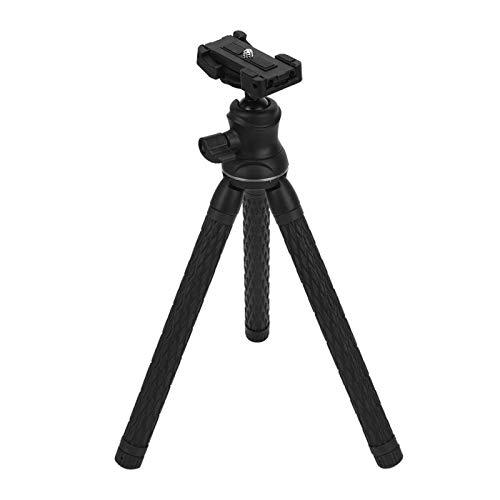 DAUERHAFT Trípode Estirable Altura máxima 41.3in Metal plástico, para fotografía con teléfono