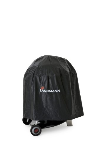 Landmann Wetterschutzhaube Quality, Schwarz, Ø 70 x 90 cm