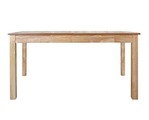 Furniture 247 - Tavolo da pranzo a 6-8 posti in rovere naturale, naturale (rovere), legno