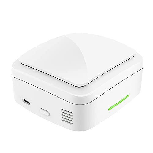 Mini purificador de Aire portátil, generador de ozono Recargable USB, esterilizador Desodorante para Coche, baño, Dormitorio, Armario de Zapatos