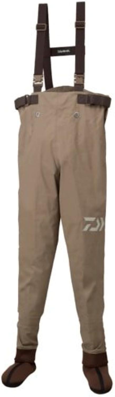 Daiwa Waders Super Breath Stockings Waders Waisthigh SBW3001S Tan LL