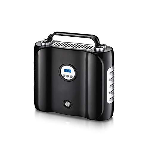 Portable Air Compressor-12 V DC, Digital Gonfleur de pneu avec éclairage LED rétroéclairé Digital Jauge de pression, pour voiture SUV gonflables vélos Ballons