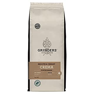 Grinders Coffee, Crema, Roasted Beans, 1kg (B075P2F1F3) | Amazon price tracker / tracking, Amazon price history charts, Amazon price watches, Amazon price drop alerts