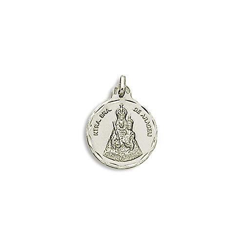 Medalla Religiosa - Medalla Virgen de Araceli 21 mm. Plata de Ley 925 milésimas.