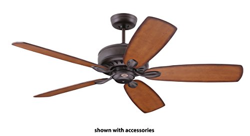 Emerson Ceiling Fans CF921ORB Avant Eco Energy Star Ceiling Fan With Remote, Blades Sold Separately, Oil Rubbed Bronze Finish