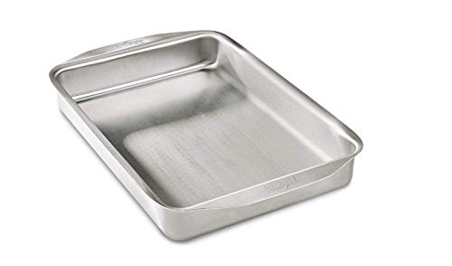 All-Clad 9000 D3 Stainless Ovenware 9x13 Inch Baking Pan, Stainless Steel, 9 by 13-Inch