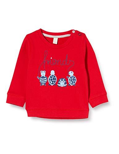 ESPRIT KIDS Baby-Jungen RQ1502202 Sweatshirt, Rot (Red 375), (Herstellergröße: 68)