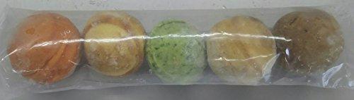パンボール ( セット ) 10P ( 5味×10袋 ) ( トマト・レーズン・かぼちゃ・ほうれん草・コーヒー味のパン ) 業務用 冷凍