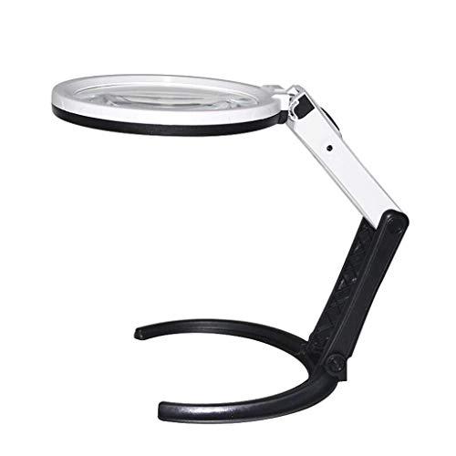 Bruciatore di incenso Lampada a LED potere della mano lente doppia piegatura tavolo può essere collegato al supporto multifunzione Punteggio manutenzione Reading .Stufa a aromaterapia domestica, DEC M