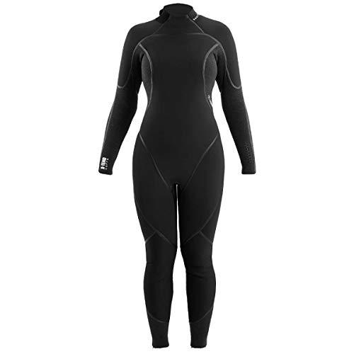 Aqua Lung AquaFlex Womens 5mm Back-Zip Jumpsuits Galaxy/Black (2017) - 8