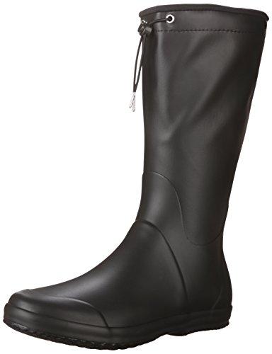 TRETORN Women's Viken Rain Boot, Black, 39 M EU/8 M US