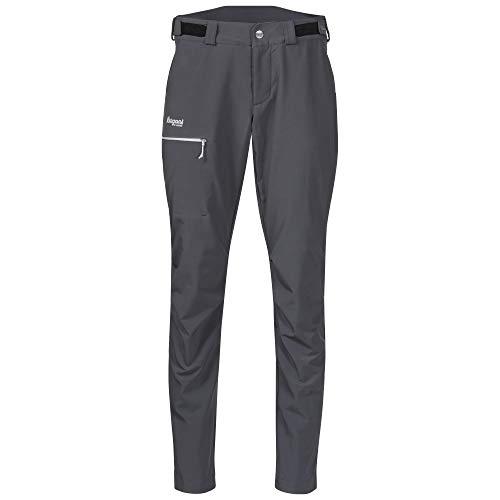 Bergans Slingsby LT Pantalon Softshell Femme, Solid Dark Grey/White Modèle S 2020