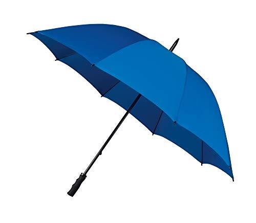 Impliva Falcone Regenschirm, 130 cm, Kobalt Blau