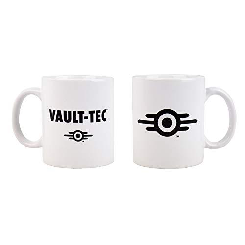 Fallout Mug Vault-Tec - Gorra, color blanco