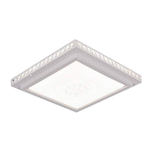 Plafondlamp Family Utility sfeervolle woonkamer kristallen lampen warme rechthoekige slaapkamer, JTD 60 * 60cm