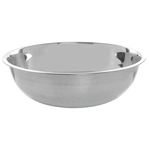 Stainless Steel Mixing Bowl 16 Quart – 18″Dia x 5 3/10″H