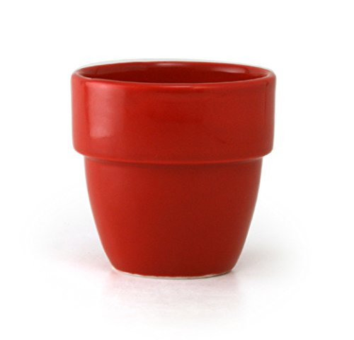 ZEROJAPAN Stackable Teacups Tomato TC-08 TO (japan import)