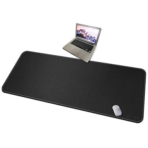 CENNBIE Extended Mega Size Professionelle Ledertischmatte für vollen Schreibtisch - 150 * 70 cm Super Large 59