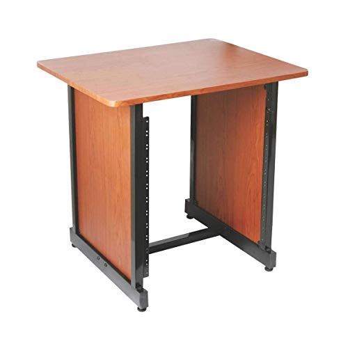 On-Stage WS7500 Series Workstation Rack Cabinet, Rosewood
