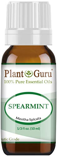 Spearmint Essential Oil 10 ml. 100% Pure Undiluted Therapeutic Grade for Aromatherapy Diffuser