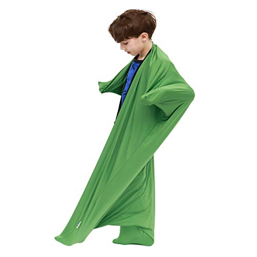 Sanho Dynamic Movement Sensory Sox - Updated Version, Medium, 6-9 years old, 47''LX27''W Green