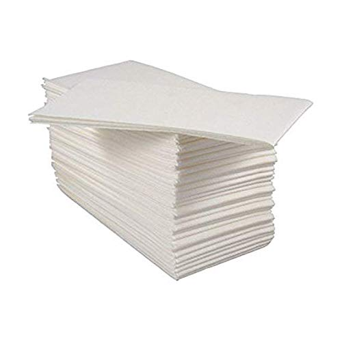 Crown Supplies White Disposable Linen Feel Luxury Airlaid Paper...