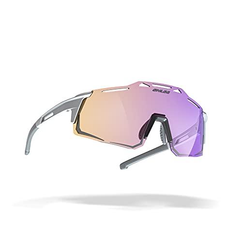 AMFG Gafas De Montar En Bicicleta Gafas De Sol Al Aire Libre Galvanoplastia Electrochaplating Polarizado Espejo De Viento Espejo De Viento Corriendo (Color : C)