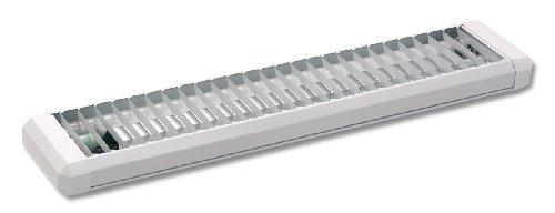 Starlicht Moderno Plafón OFFICE blanco Plástico/Metálica Alargada Adecuado para LED Max. 2...
