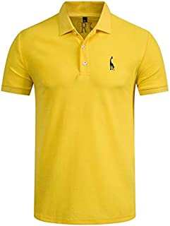 Shirt Mens Casual Embroidery Cotton Shirt Men Short Sleeve High Quantity Men