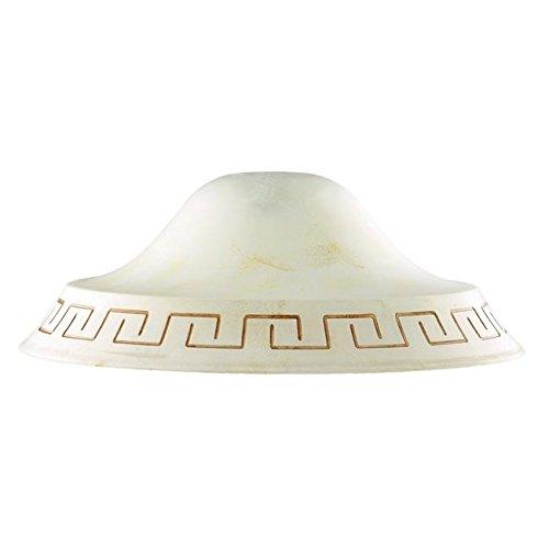 50 cm im Durchmesser Antik Bernstein Marmor Anhänger Decke Licht braun f42