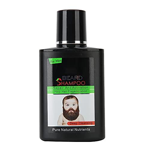 Puro Barba Lavar Champú, Barba Petróleo Piel Irritación Barba Cabello Recrecimiento por los Mejor Efecto