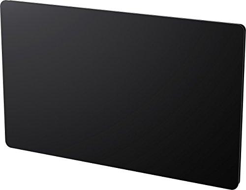 Cayenne 051265 panneaux rayonnant en Verre Noir lcd 1500W
