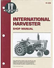 SMIH203 New Shop Manual Made for Case-IH Tractor Models 454 1026 1066 1086 +
